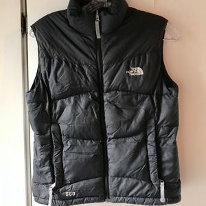 Girls North Face Vest